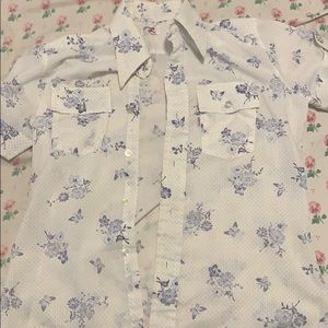 Vintage Levi's floral print shirt